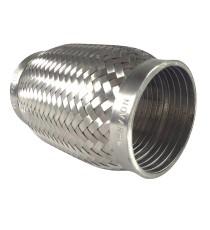 Flexible femelle pour tube 63,5mm échappement inox 304L 64X152mm