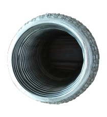 Flexible ondulé grillagé 304L femelle pour tube 48.3mm longueur 152mm