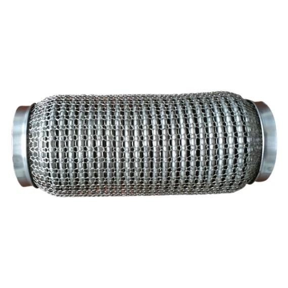 Flexible ondulé grillagé 304L femelle pour tube 63,5mm longueur 152mm