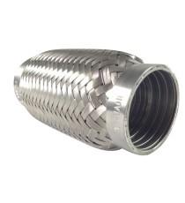 Flexible échappement inox 304L 54X152mm pour tube 53mm