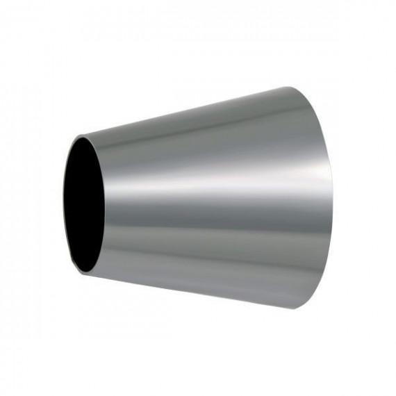 Réducteur conique symétrique inox diamètres 100 à 63.5mm - longueur 100mm