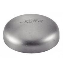 Fond bombé 114.3mm à souder et percer en inox 304L pour silencieux d'échappement