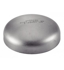 Fond bombé 88.9mm à souder et percer en inox 304L pour silencieux d'échappement