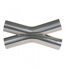 X-Pipe inox diamètres 63.5mm épaisseur 1.5mm longueur 370mm