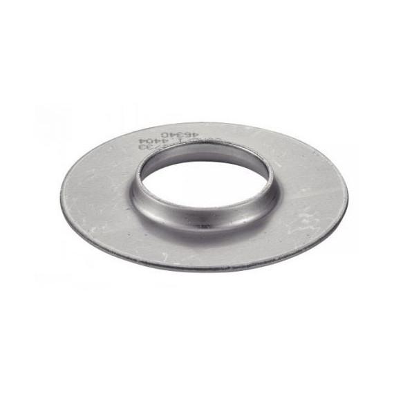 Flasque inox 304L à souder pour tube 42.4mm, silencieux diamètre 78mm