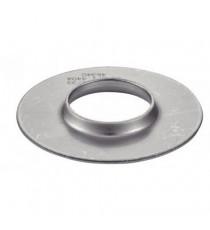 Flasque inox 304L à souder pour tube 60.3mm, silencieux diamètre 102mm