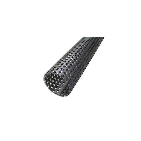 Tube perforé inox diamètre 48.3mm longueur 0.52M pour silencieux échappement