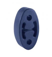 Silent bloc support échappement universel renforcé oval entraxe 50mm