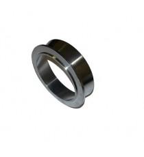 Bride collecteur inox V-Band pour carter TIAL GT/GTX42, GT/GTX45, GT/GTX50