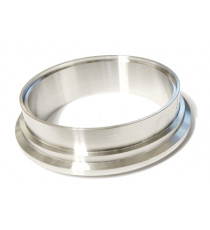 Bride collecteur inox V-Band pour carter TIAL GT/GTX55