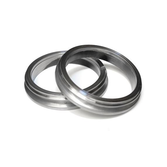 """Bride descente acier V-band 2.5"""" / T31 pour turbo GARRETT, pour tube 63.5mm ou 76.1mm"""