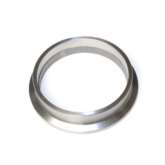 """Bride descente inox V-band 3"""" pour turbo GARRETT, pour tube 76.1mm"""