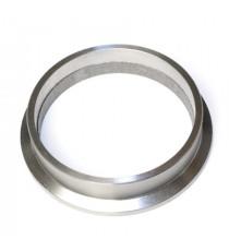 """Bride descente acier V-band 3"""" pour turbo GARRETT, pour tube 76.1mm"""