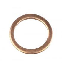Joint cuivre 18mm pour bouchon / insert de sonde lambda