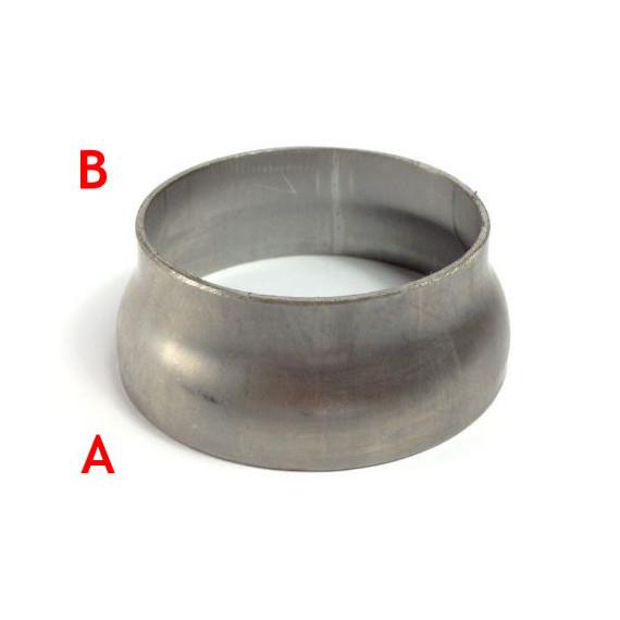 Réducteur acier pour tube à souder 76.1, 63.5mm