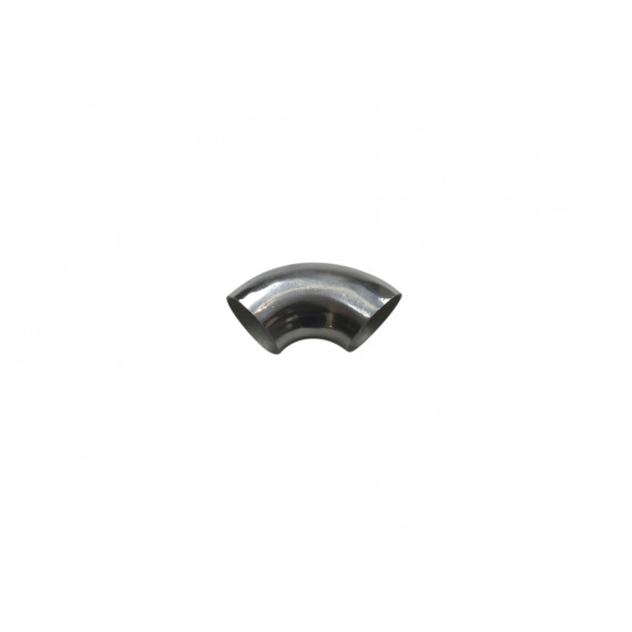 Coude inox poli 90° 3D diamètre 51mm épaisseur 1.5mm