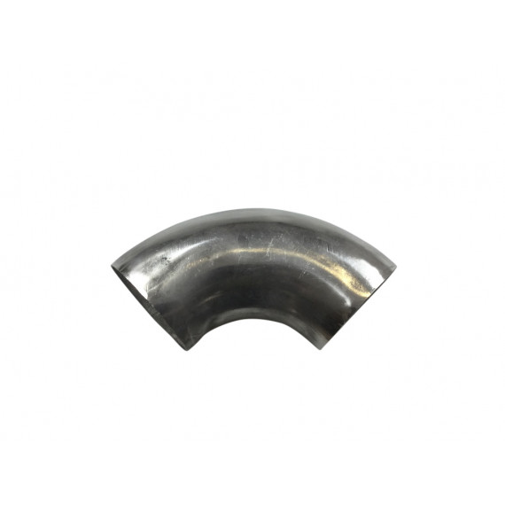 Coude inox poli 90° 3D diamètre 76.1mm épaisseur 1.5mm