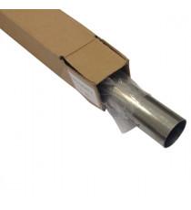 Tube inox 304L cintrable diamètre 42.4mm épaisseur 1.5mm longueur 1000mm