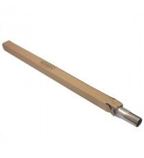 Tube inox 304L cintrable diamètre 48.3mm épaisseur 1.5mm longueur 1000mm
