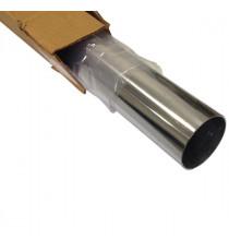 Tube inox 304L cintrable diamètre 57mm épaisseur 1.5mm longueur 1000mm