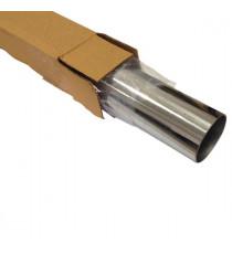Tube inox 304L cintrable diamètre 63.5mm épaisseur 1.5mm longueur 1000mm