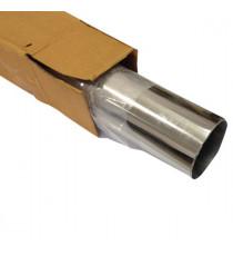 Tube inox 304L cintrable diamètre 76.1mm épaisseur 1.5mm longueur 1000mm